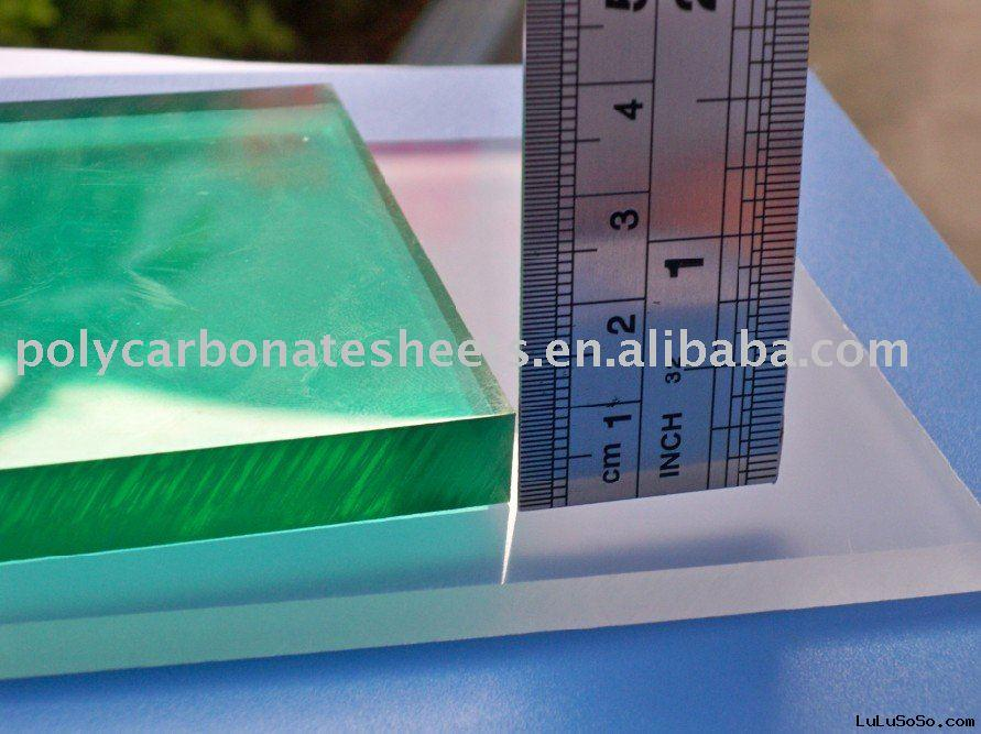 thick clear polycarbonate sheet plastic building material plastic roofing material