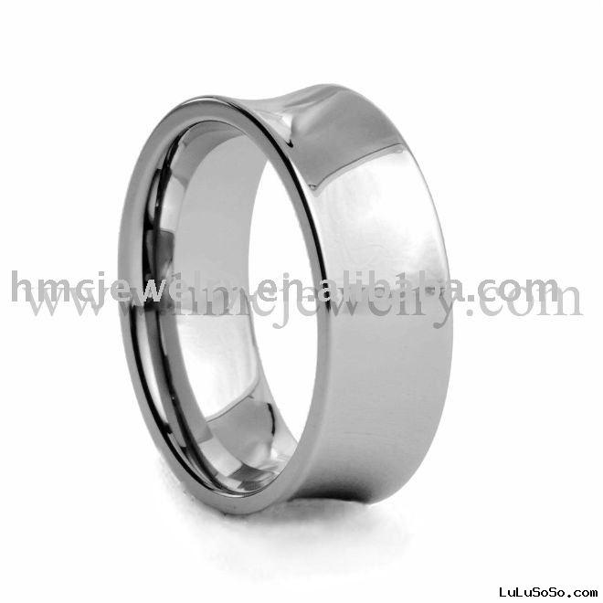 titanium gold wedding band