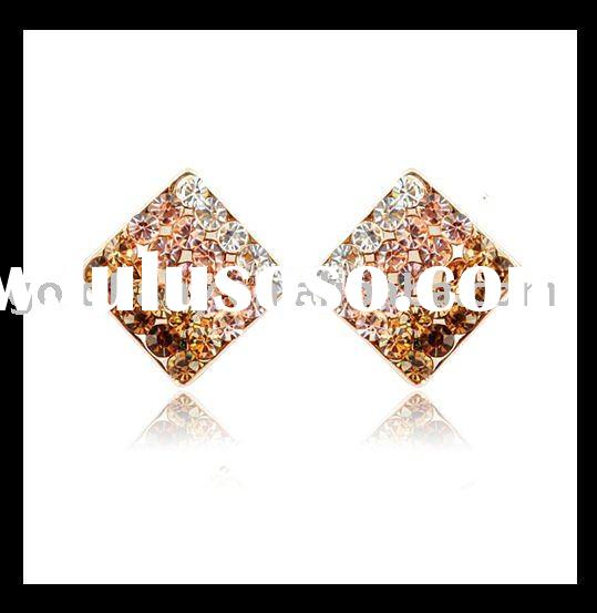 14k Gold-plated 2011 Newest  Fashion Earrings