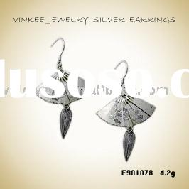 Fashion 925 Sterling Silver Earrings