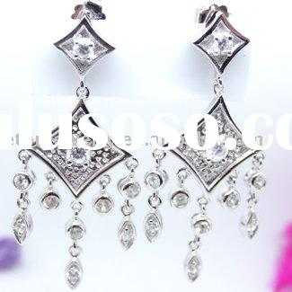 Silver Jewelry --- Chandelier Earrings(CE4006)