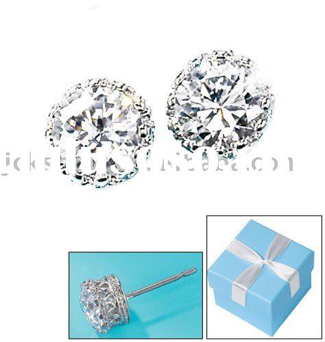 fashion earrings, diamond earrings