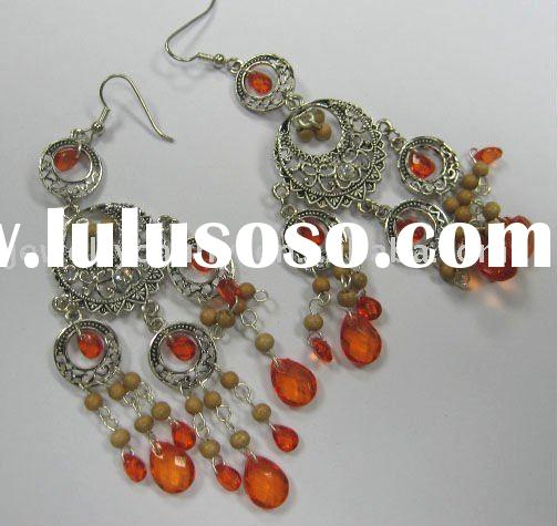 india chandelier earrings design