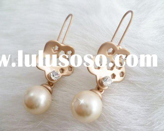 upper ear piercing jewelry|pearl drop chandelier earrings