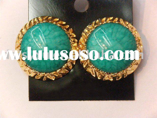 wholesale fashion alloy earrings