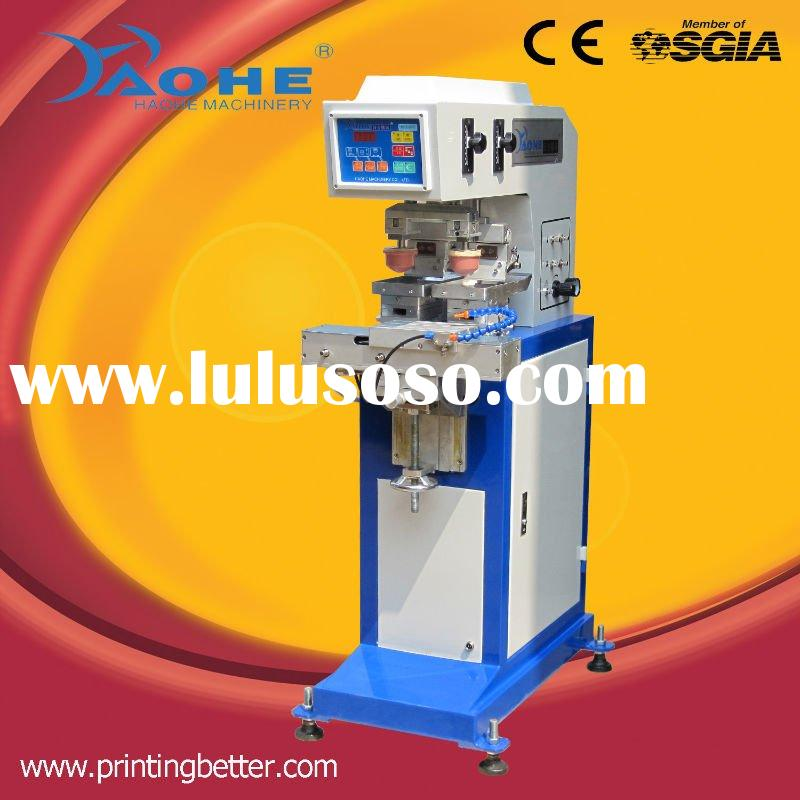 2 color pad printing equipment with shuttle