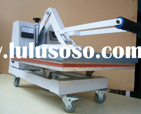 New T shirt High pressure Heat Press machine with Wheel