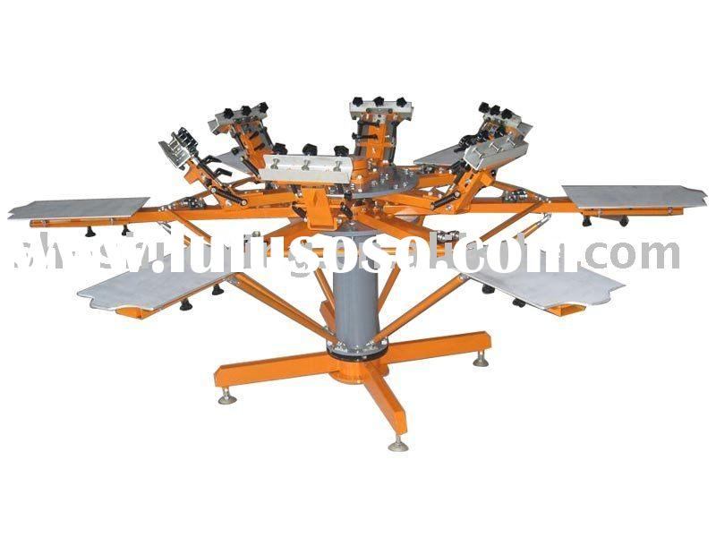 Silk screen printing equipment, printing press, silk screen printing machine