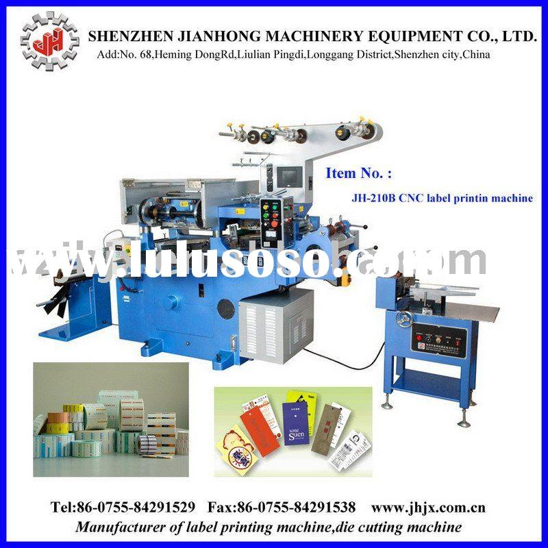 Sticker printing machine
