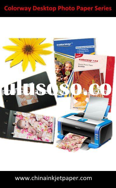 210G high glossy photo paper & inkjet paper (A4* 20), professional manufacturer