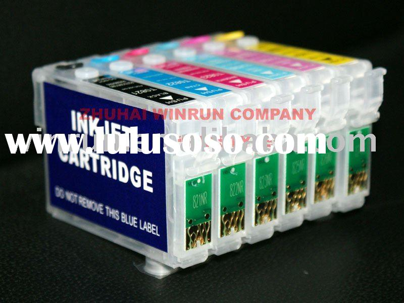 Refillable cartridge for EPSON Stylus Photo R260/R280/R380/RX580/RX595/RX680/Artisan50