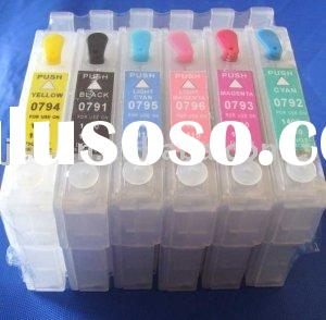 Refillable cartridge for epson stylus photo 1400 printer