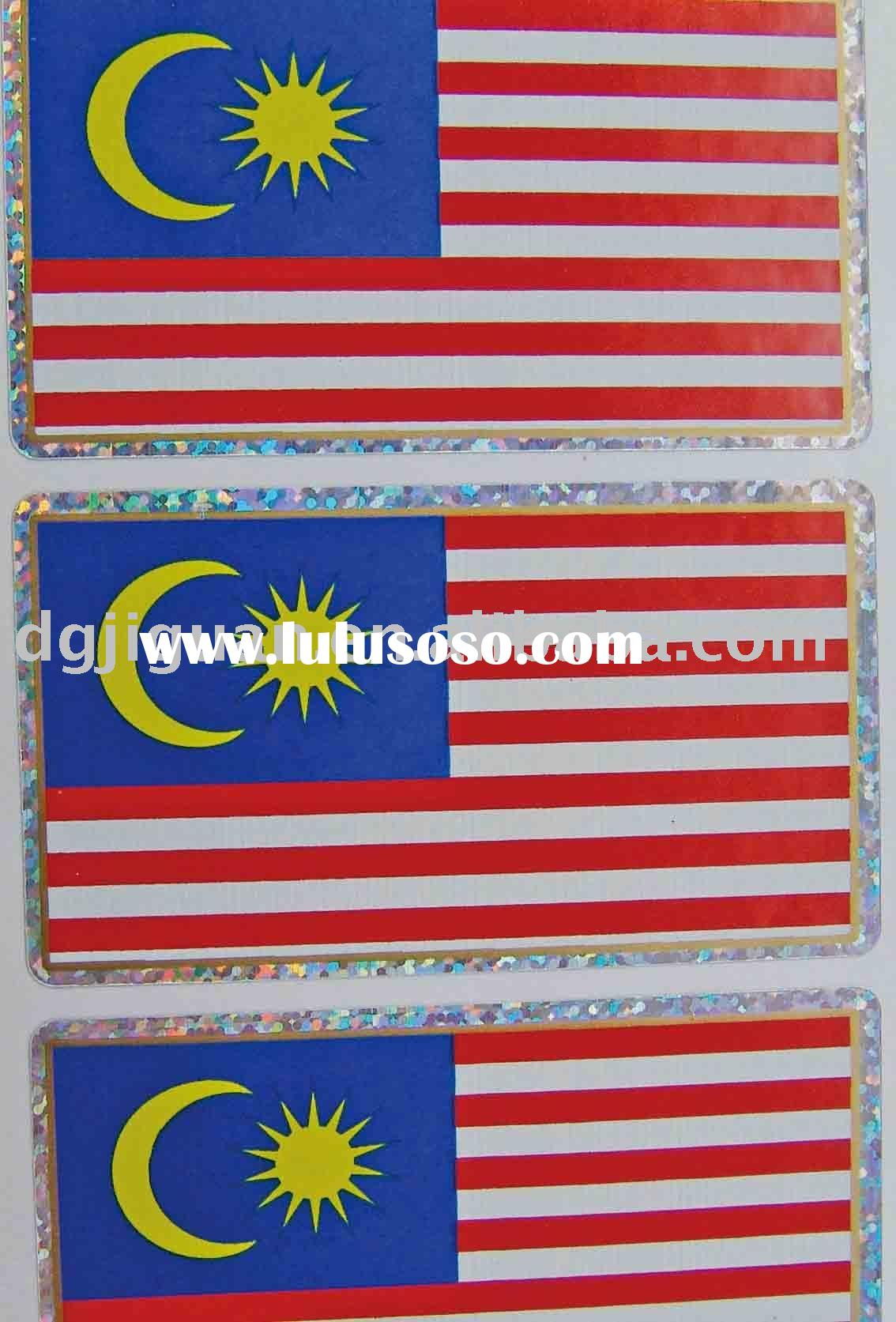 The Malaysia Banner Sticker