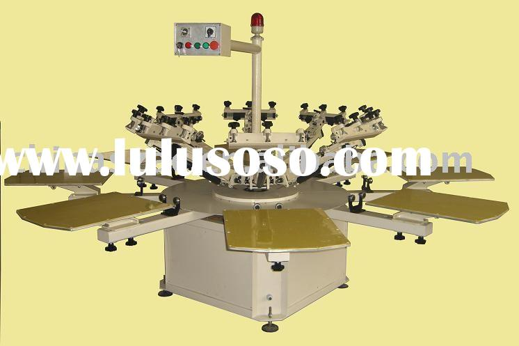 Manual Textile Screen Printing Machine (Carousel)