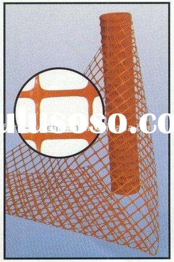 plastic safety fence/orange safety fence/plastic barrier fence (factory)