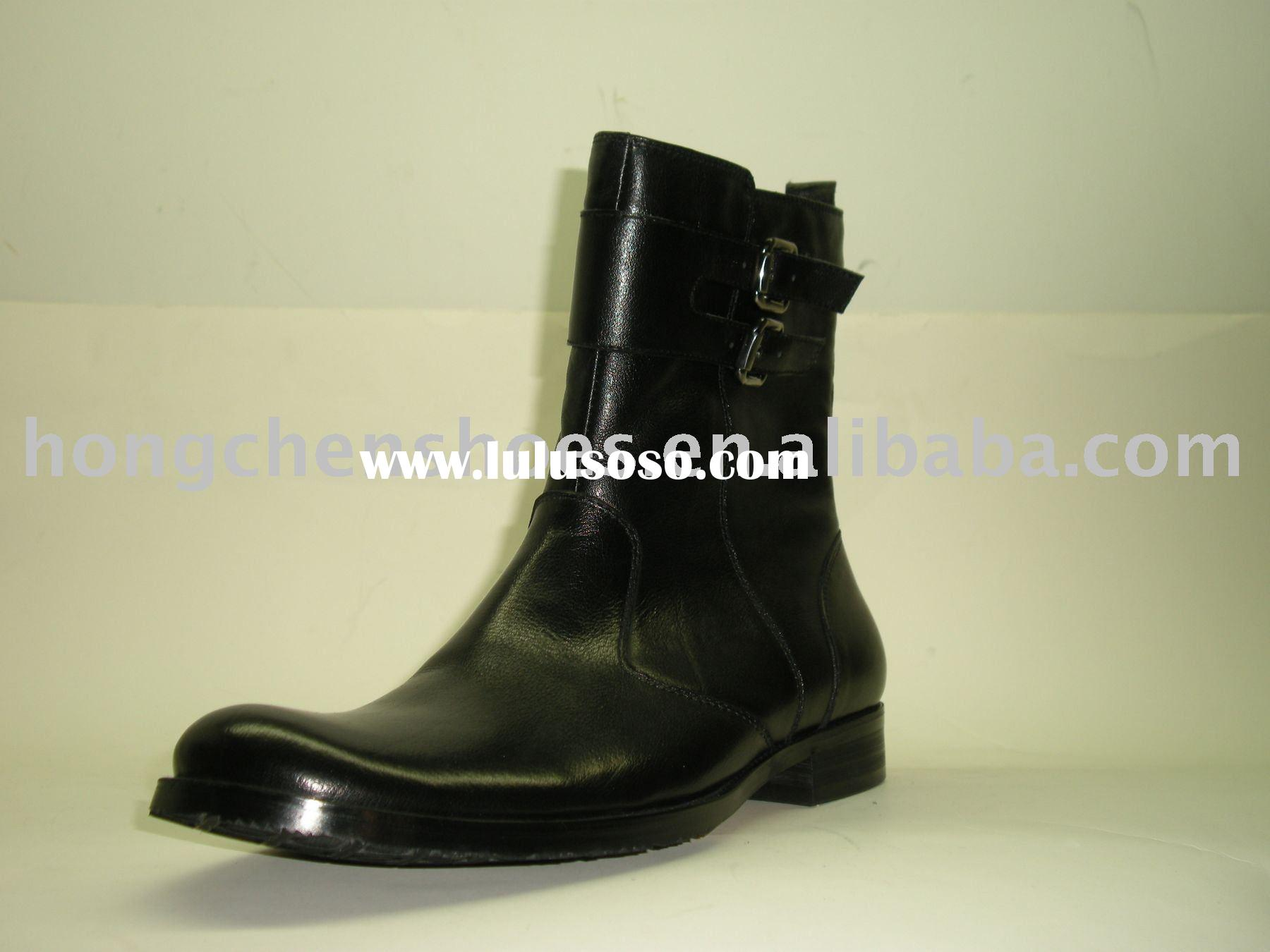 2011 The latest winter male boots men's dress shoes