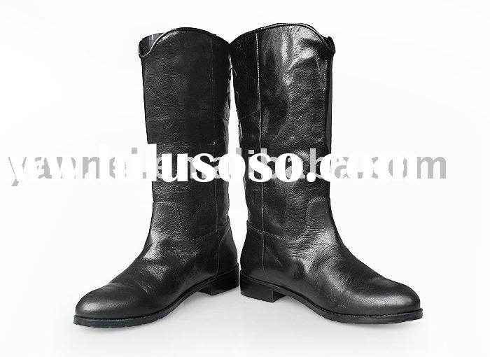 Brand leather lady  boots