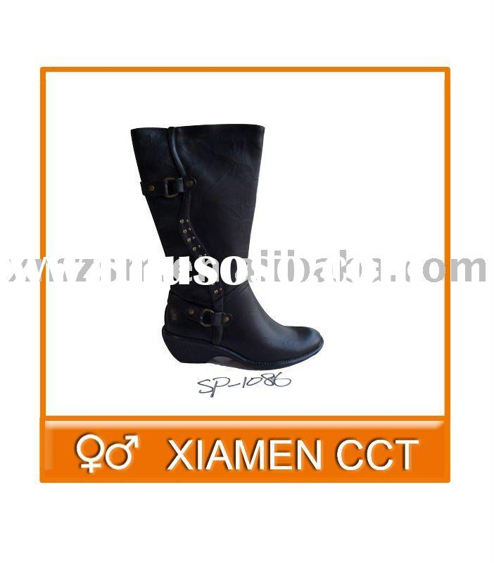 Leather Lady Boots