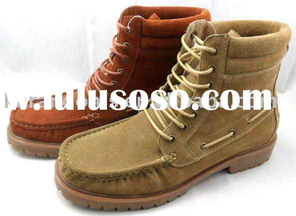 Men Cheap Boots,Mens Casual Boots,Genuine Leather Boots with Factory Price