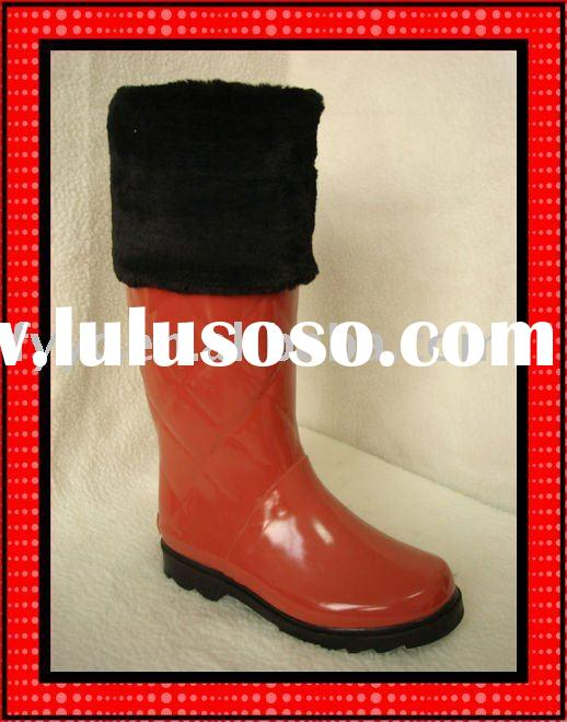 YC Fashion Lady orange ladies winter high boots
