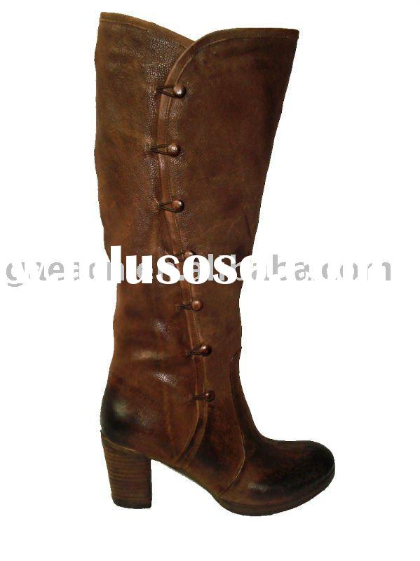 GAEA Tall Leather Boots