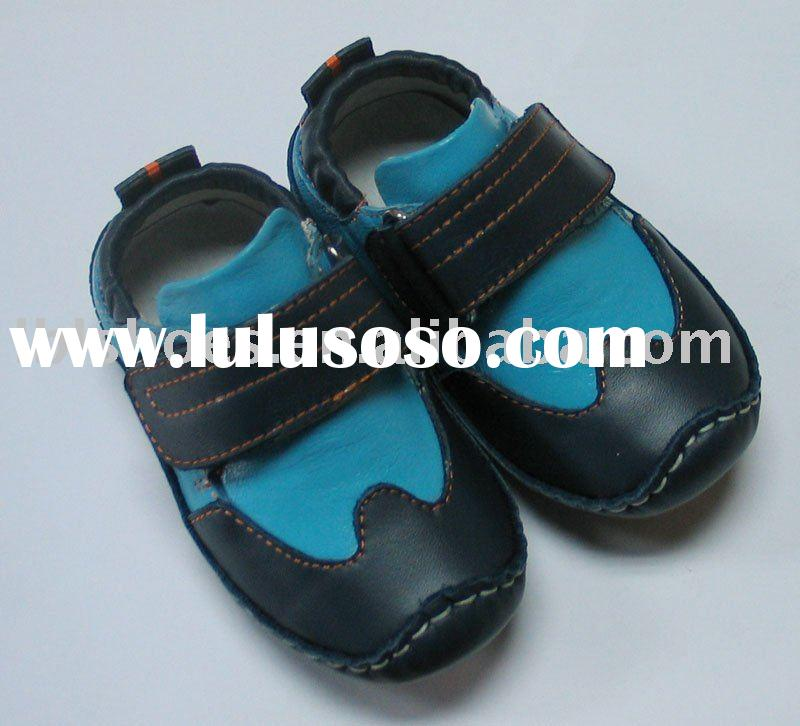 fashion baby leather shoes LBL-BB27012BL
