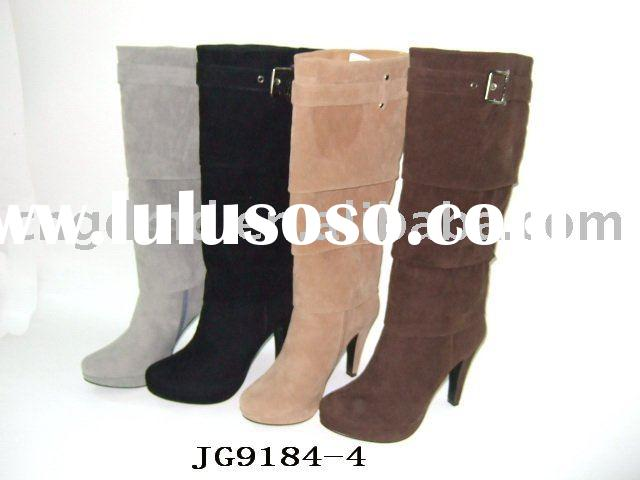 ladies' fashion high heel   boots