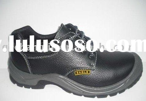 leather upper Steel Toe Safety shoes