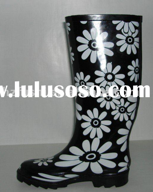 rubber hunter boots
