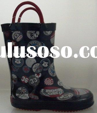 rubber wellington boots