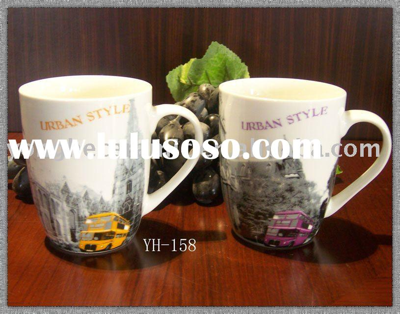 13oz ceramic mug in printing.porcelain mugs
