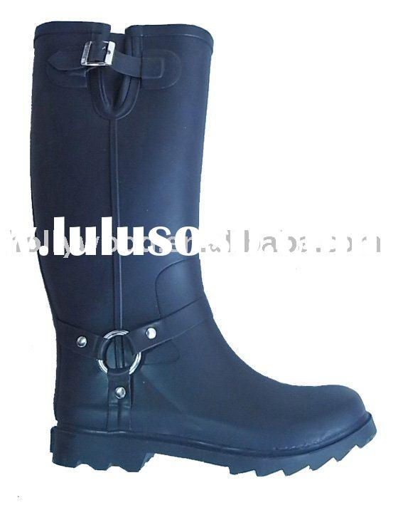 Fashion wellington style Ladies rubber boots