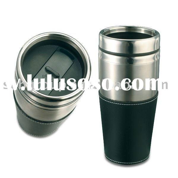 Thermos stainless steel Travel Mug(fit car holder,bpa free)