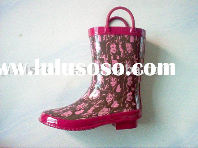 children's rubber boots(rubber rain boots,children/kids rain boots,rubber shoes)
