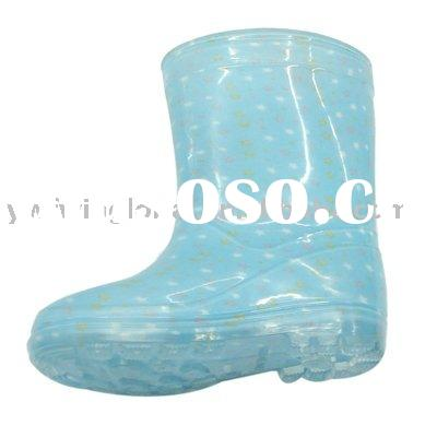kids rubber rain footwear