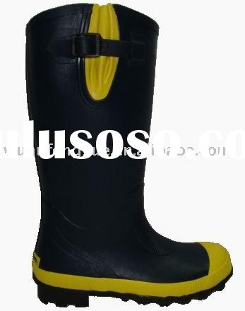 male wellington rubber boots