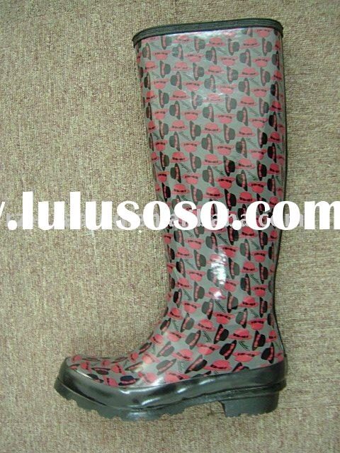 women's fashion rubber boots