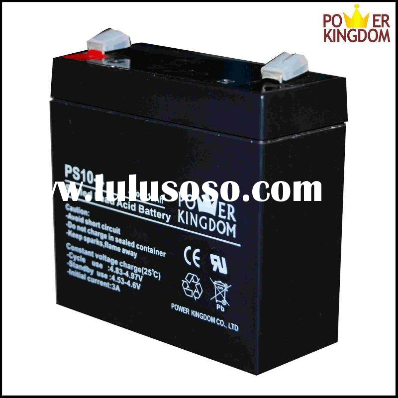 4V 10Ah Sealed Lead Acid Battery