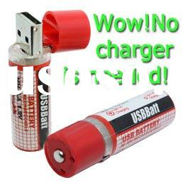AA USB Rechargeable Battery