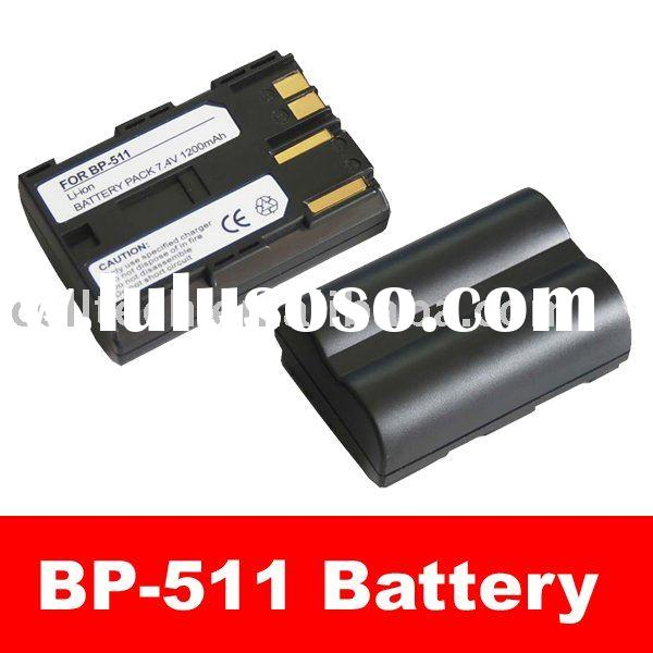Camera and Camcorder Battery for Canon BP-511