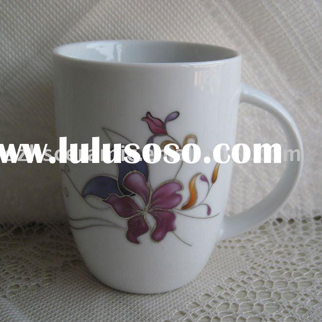 Ceramic coffee cups and mugs