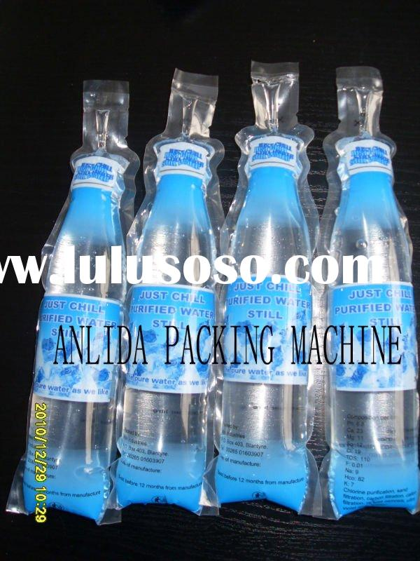 Eight nozzles water pouch filling sealing packing machine