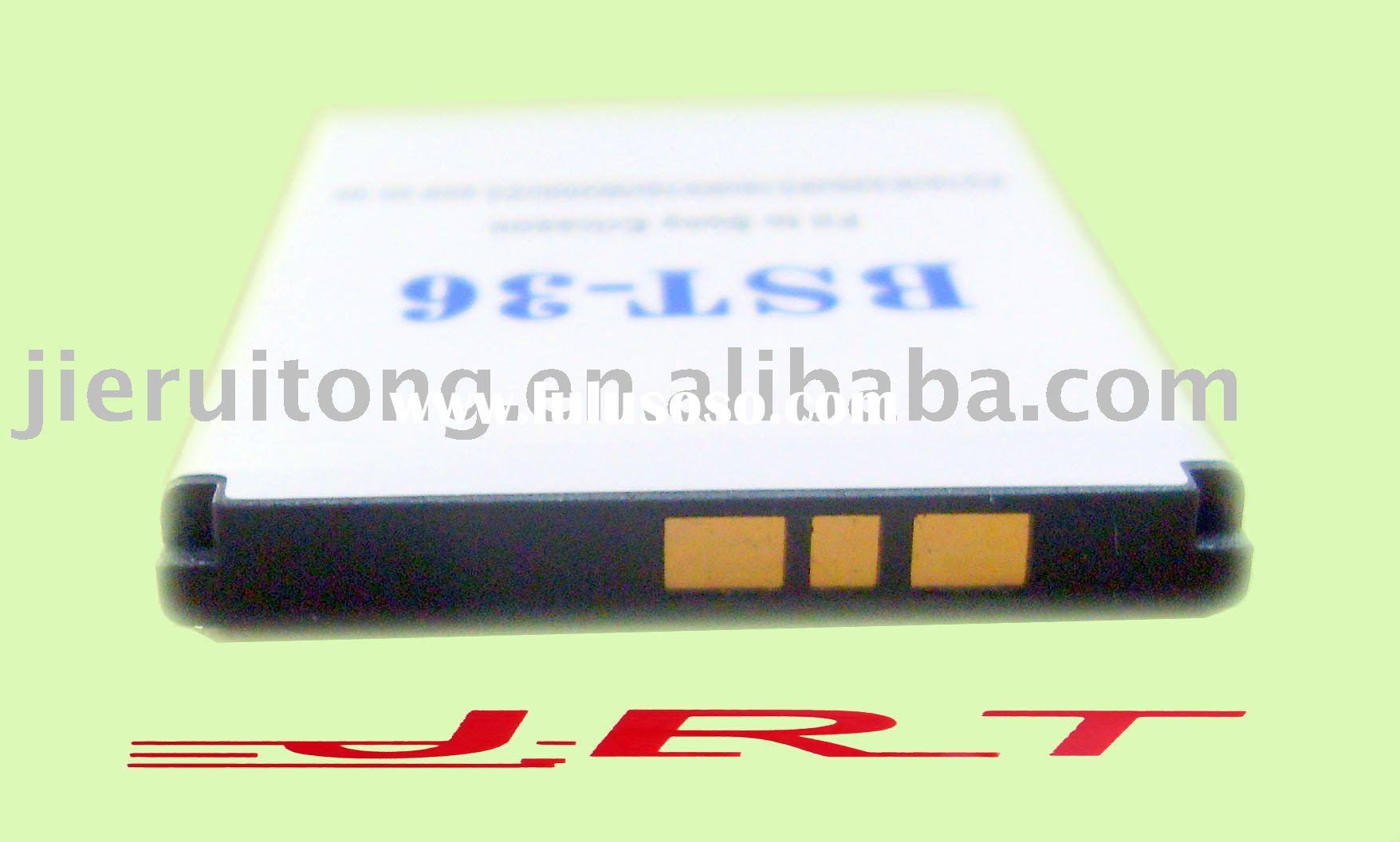 High Capacity Replacement Battery BST-36 for Sony Ericsson