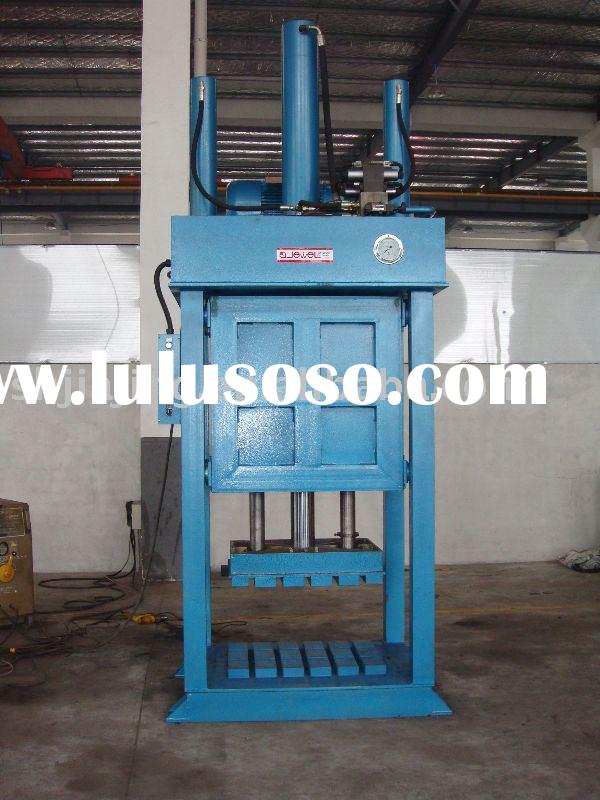Hydraulic baler;compress machine;balers;Used clothing compress