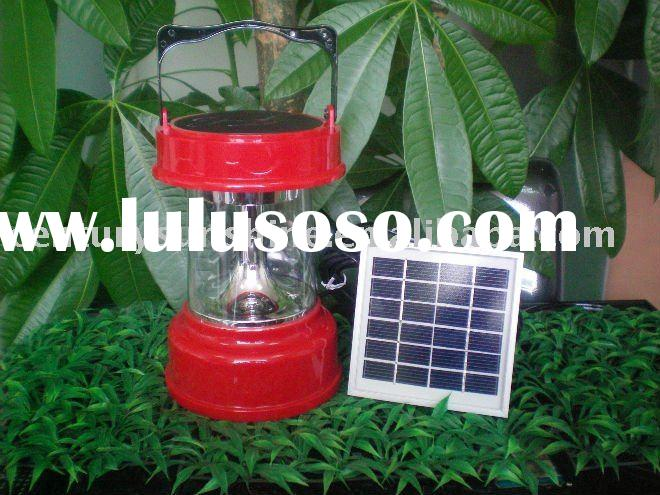 LEMON Solar rechargeable LED lantern