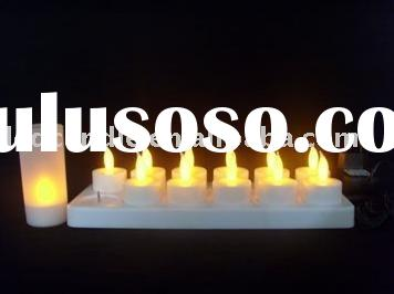 Led rechargeable candleS,