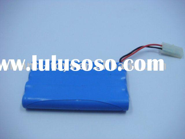 NI-MH rechargeable battery pack AA   9.6V   700mah