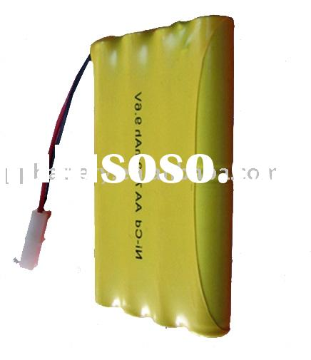 NiCd AA 700mAh 9.6V Rechargeable Battery Pack