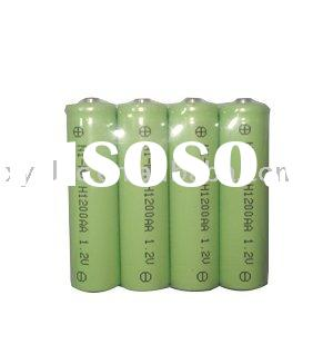 NiMH AA  rechargeable batteries
