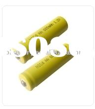 Ni Cd AA 600mAh rechargeable battery 1.2V
